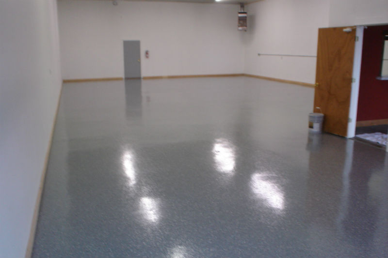 Bozeman Concrete Flooring Epoxy Floor Painting and Refinishing
