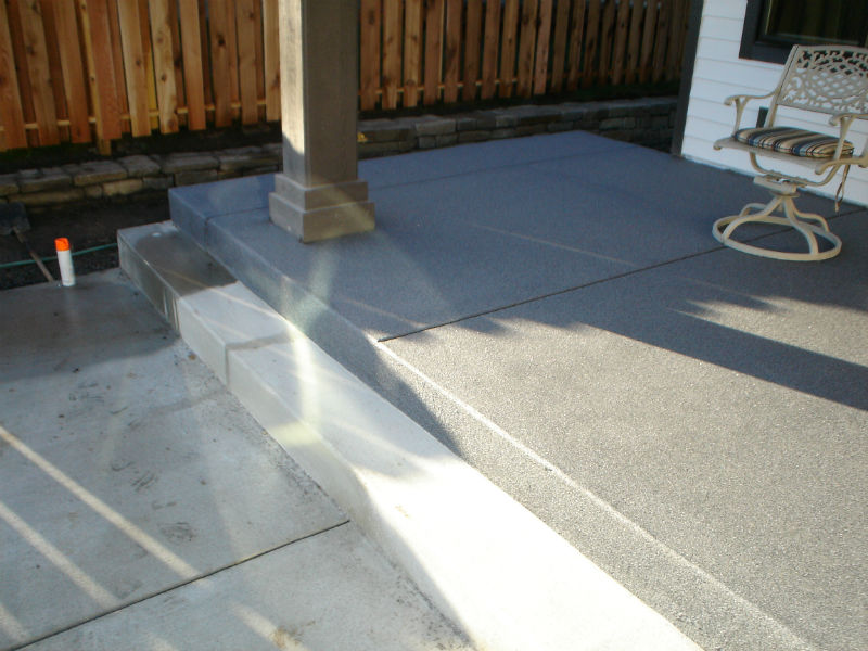 Bozeman Concrete Patio Epoxy Floor Painting And Coating