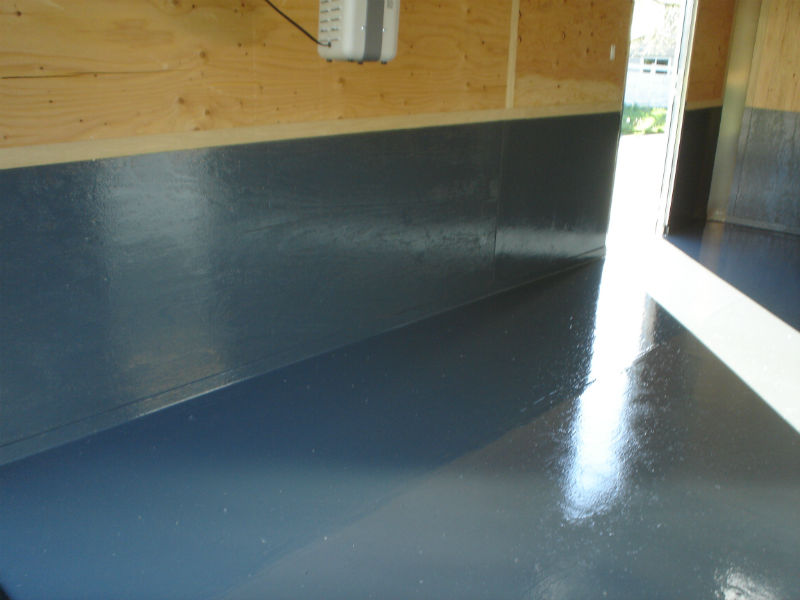 Bozeman Custom Concrete Floor Painting