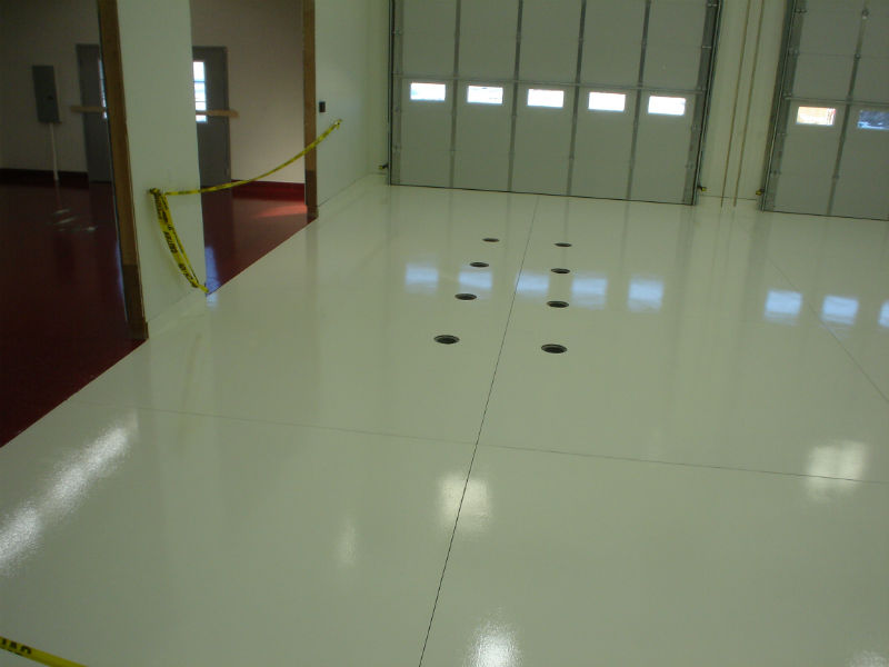 Bozeman Garage Epoxy Floor Paint Coating