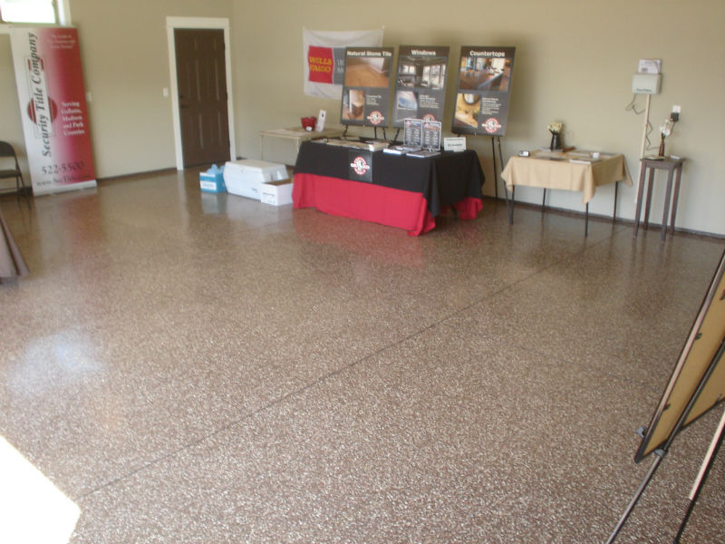 Bozeman Garage Flooring Epoxy Floor Painting