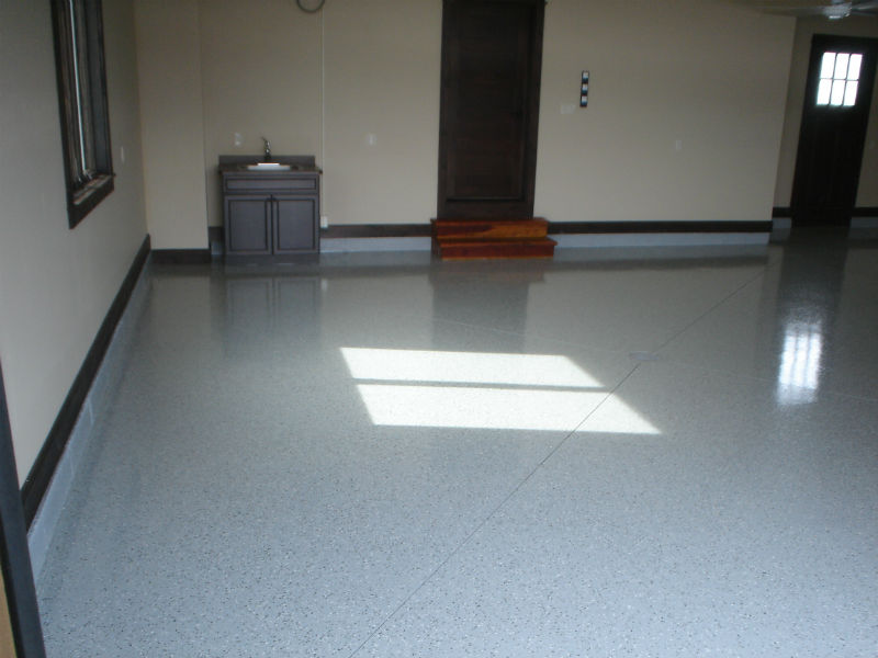 Bozeman Garage Remodeling Epoxy Floor Painting