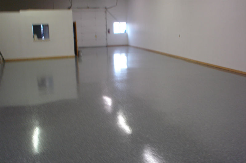 Bozeman Professional Epoxy Floor Concrete Painting