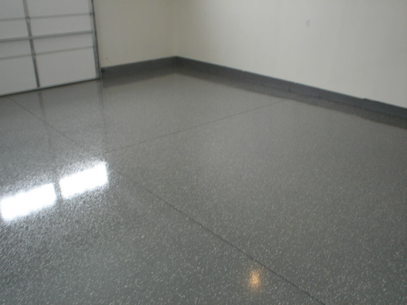 Bozeman Warehouse Concrete Floor Epoxy Painting